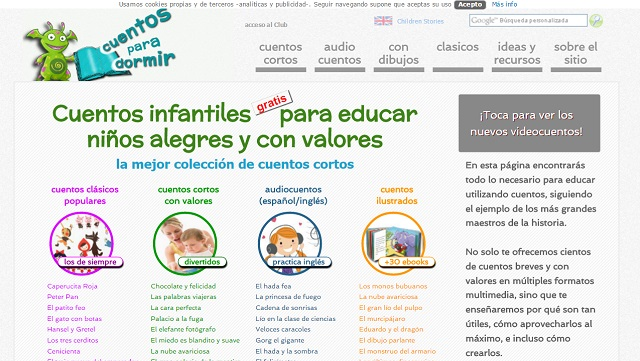 10 Bibliotecas Virtuales Infantiles Con Cientos De Libros